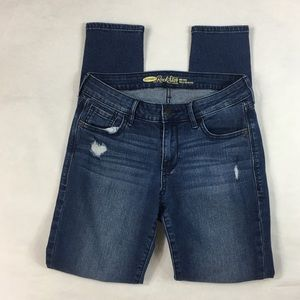 Old Navy Rock Star Busted Knee Skinny Jean Size 4